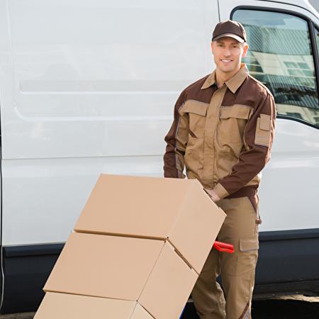 Terminabholung eines Paketes bis 31,5 kg und maximal 120 x 60 x 60 cm Größe